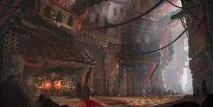 Castle blacksmith speedpaint