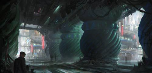 Bladerunner Fanart by Tryingtofly