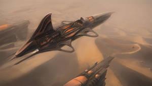 Desert airship