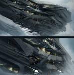 Big ship sketches