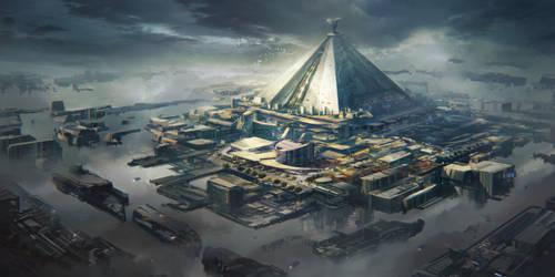 Game of thrones redesign - Mereen Spaceport