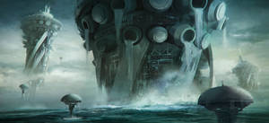 Scyphozoan city Rising