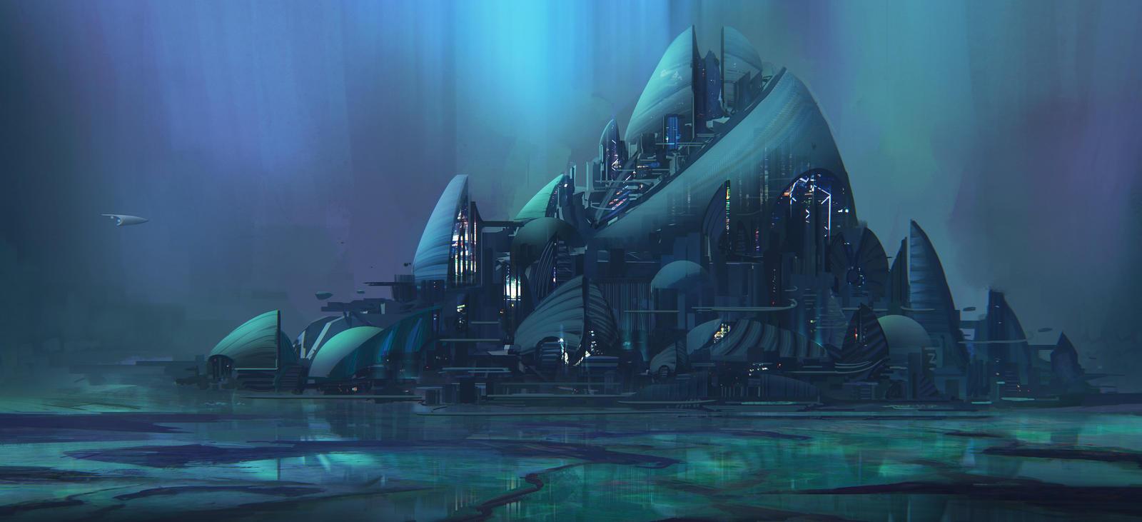Laguna city by Tryingtofly