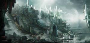 Sky slums sketch