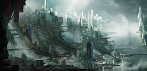 Sky slums sketch by Tryingtofly