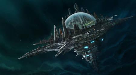 Paizo's Starfinder - Absolom station