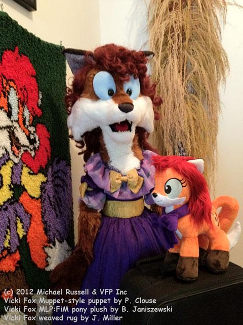 vicki fox puppet vicki fox pony by vickifox - Coloration Hnn