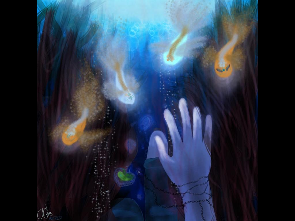 Drowning in Emotions by EnderKitten26