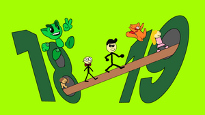 Happy 19th Birthday DeviantArt! by AlextheAnimator