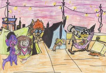 Blunder Party Pokemonized Scene by AlextheAnimator