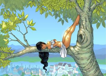 Neya's Summer Tree by MatsOhrman