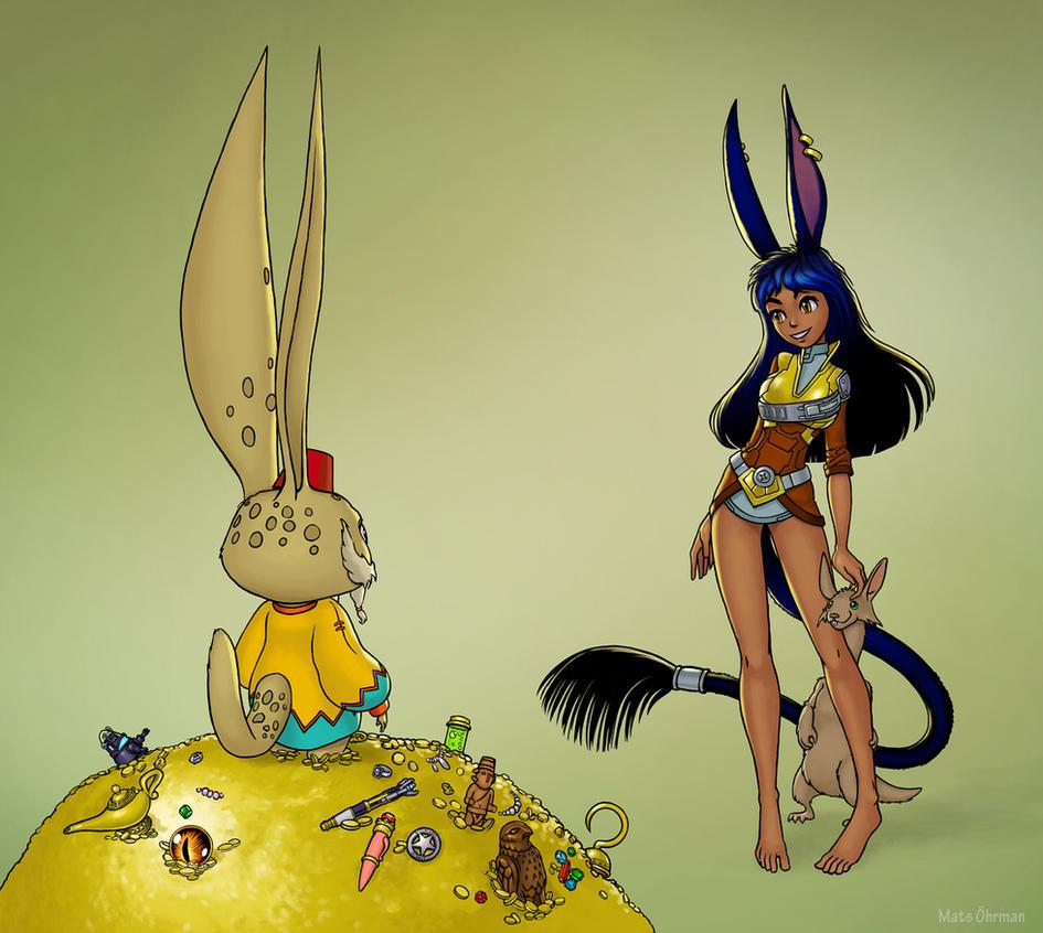 Aurin, Jabbit and Lopp by MatsOhrman