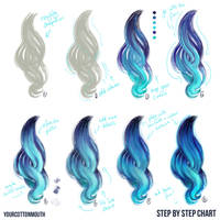 Digital hair tutorial by YourCottonmouth