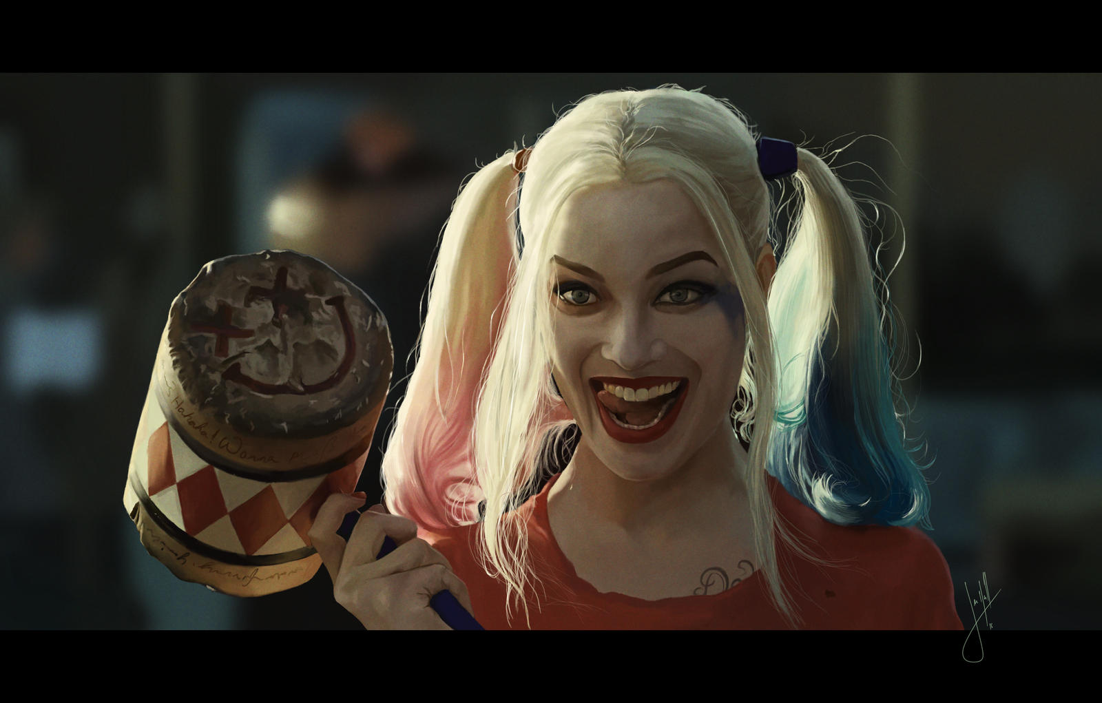 Harley Quinn by YourCottonmouth