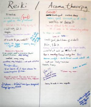 SHWC2007:Reiki - Aromatherapy