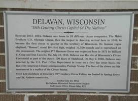 Delavan Circus History by steward