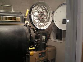 Old-fashioned Film Projector by steward
