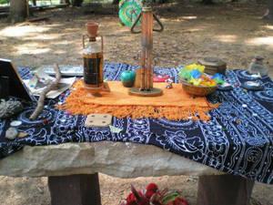 Memorial Altar Closeup