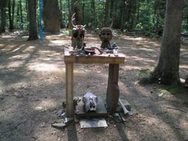 Memorial Altar - Rear by steward