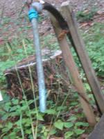 Chlorinated running water by steward