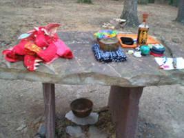 Memorial Altar Breakdown by steward