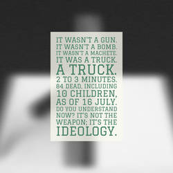 Weapons vs Ideology