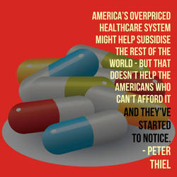 USA subsidizes world healthcare