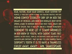 Shakesperian Curse