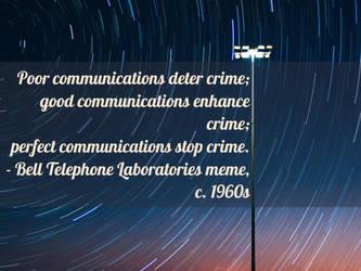 Communication Quality by steward