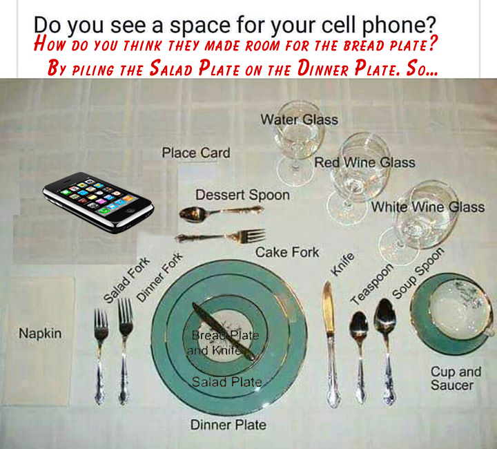 Cell Phone Placement by steward
