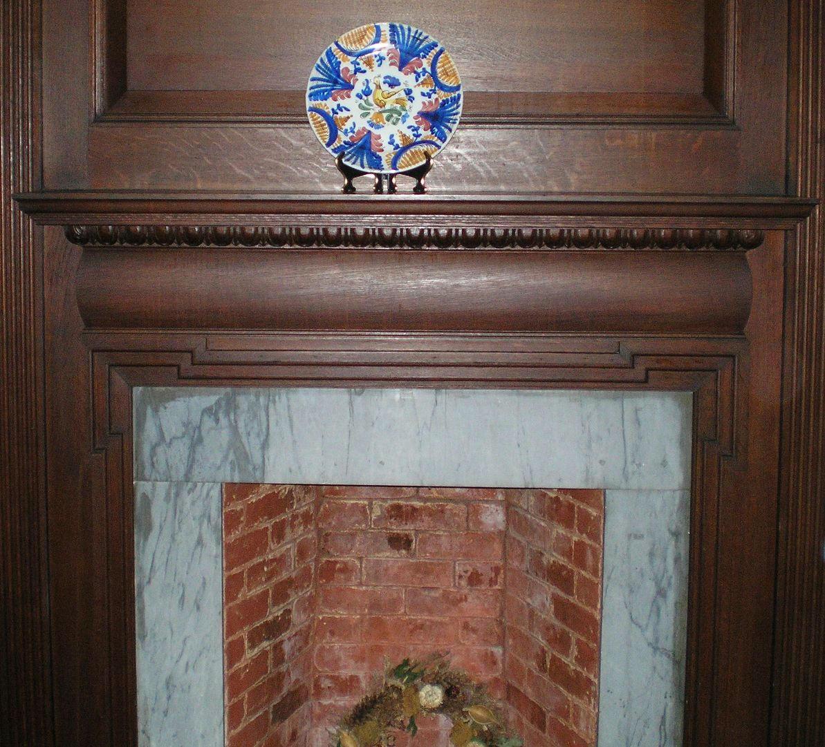 SHWC2006:Dining Area Fireplace by steward