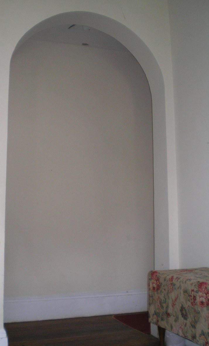 SHWC2006: Archway to hall by steward
