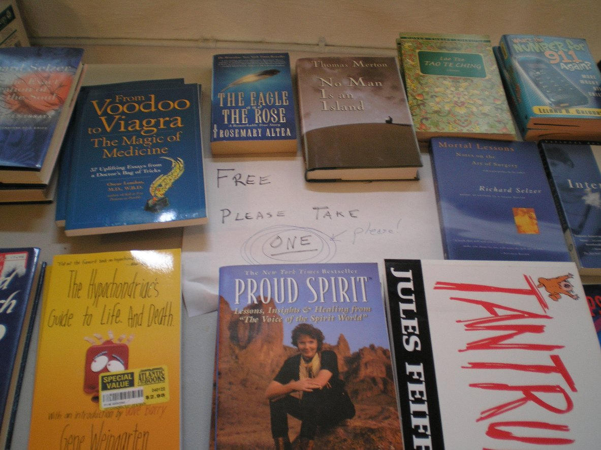 SHWC2006: Free books by steward