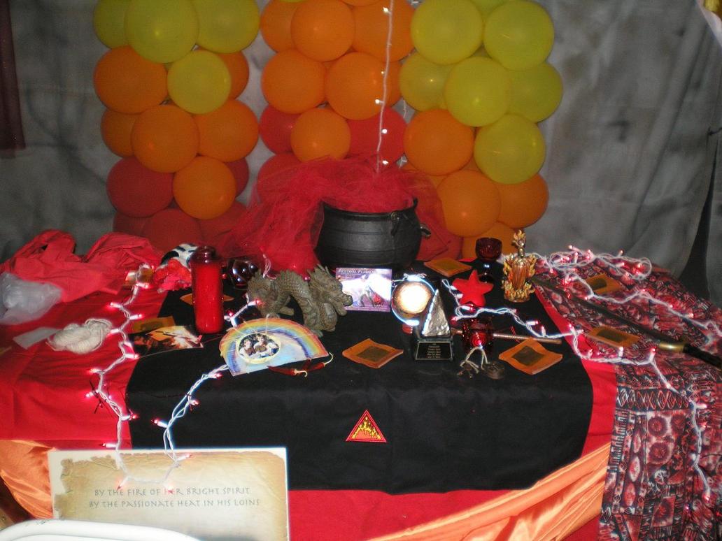SHWC2006: Fire Altar by steward