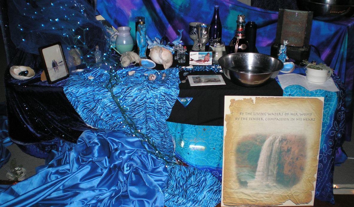 SHWC2006:Closeup-Water Altar by steward