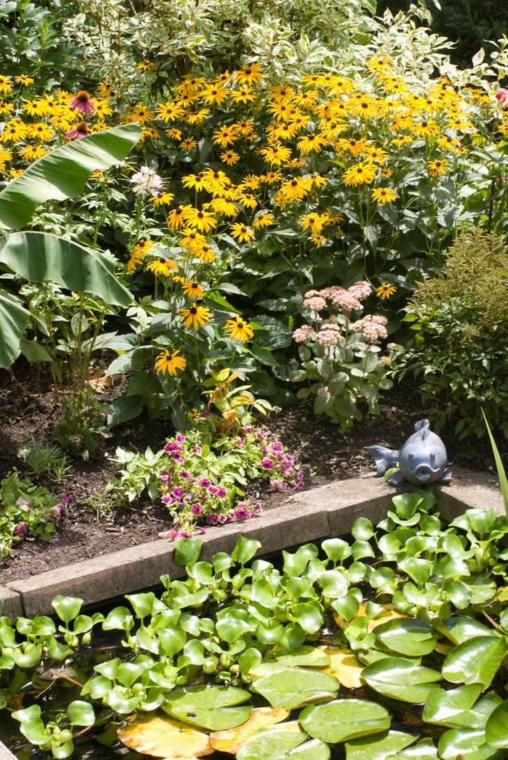 Garden pond by bgast on deviantart for Garden pond reddit