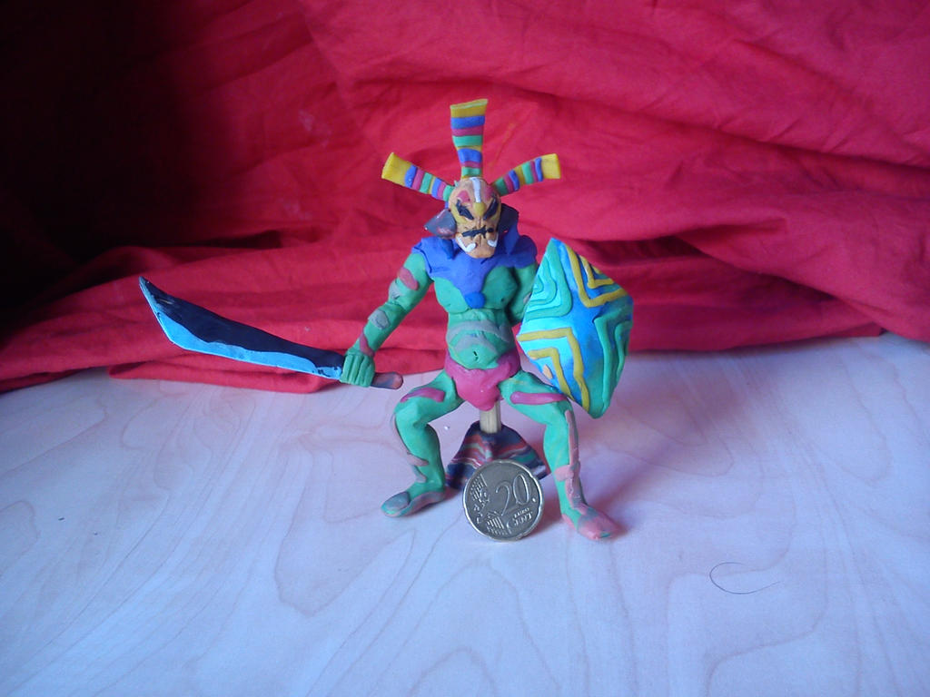 Masked Jungle Warrior Odolwa by Clockwerk97