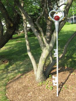 Sailor Pluto's Garnet Rod