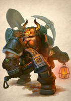 Dwarf miner by yichenglong1985