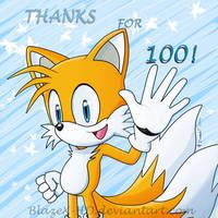 ~100 WATCHERS!~ by BlazeX-HD