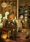 Shiku and Pumpkin