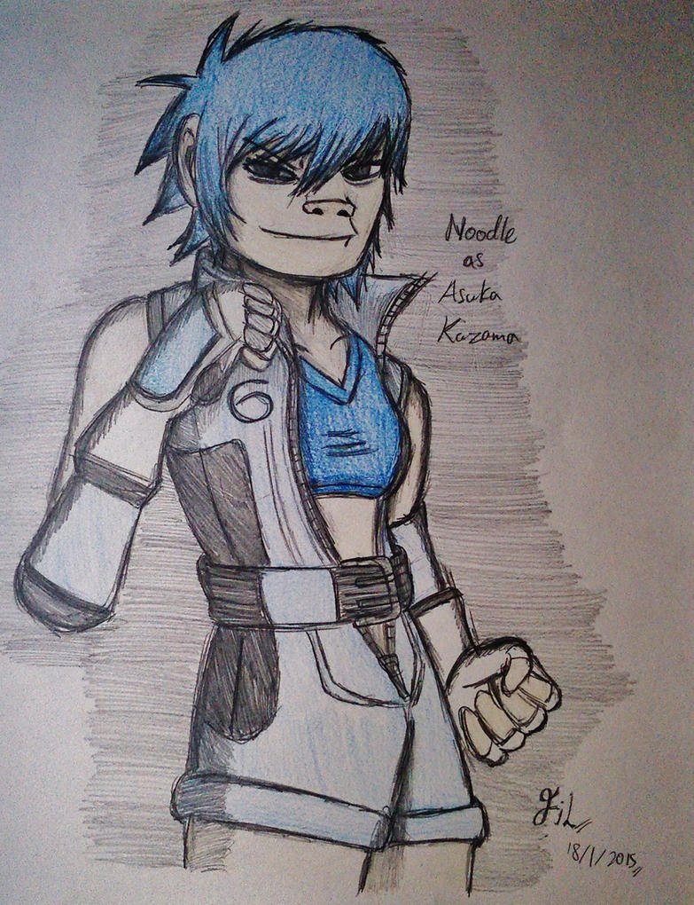 Noodle as Asuka Kazama by Fil101