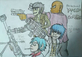 Gorillaz - Of the End by Fil101