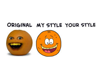(COLLAB) Annoying Orange In Your Style