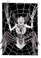 Demon Spider by davidsteeleartworks