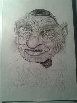 WIP Hoggle from Labyrinth
