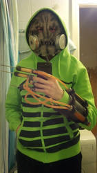 Scarecrow costume test xD by Formaldegit