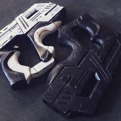 M-77 Paladin and M-11 Suppressor by Formaldegit