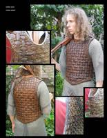 Leather Viking armor