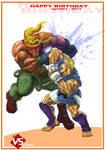 Abel VS Alex - Street Fighter 3.5